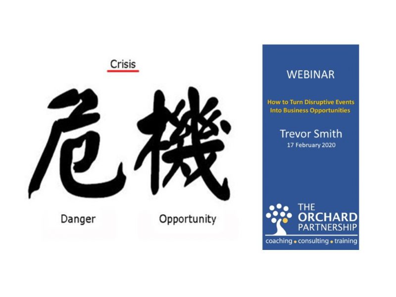 Webinar: How to Turn Disruptive Events Into Business Opportunities